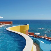 Pools Overlooking the Ocean