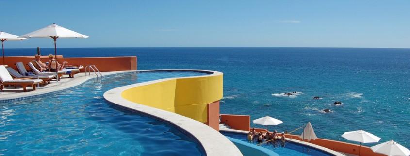 Pools Overlooking the Ocean