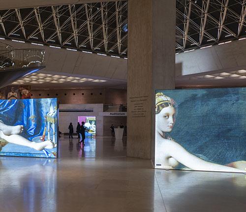 Senfa Backlit Printed Graphics for Museums