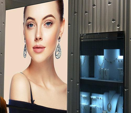 Senfa Backlit Printed Graphics for Retail