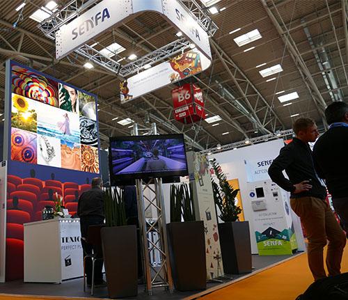 Senfa Backlit Printed Graphics for Trade Shows